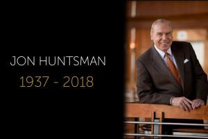 Goodbye To Our Friend, Jon Huntsman