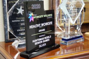 Games Receives Healthy Workplace Award